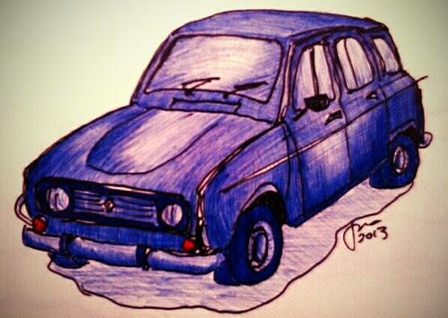 Renault 4L by JMADesigner