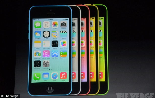 In what's been classed as a 'make or break' event for Apple, the Californian-based tech firm has unveiled its plastic iPhone 5C that comes in a range of colours and will cost $99.