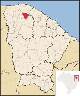 Localização de Santana do Acaraú