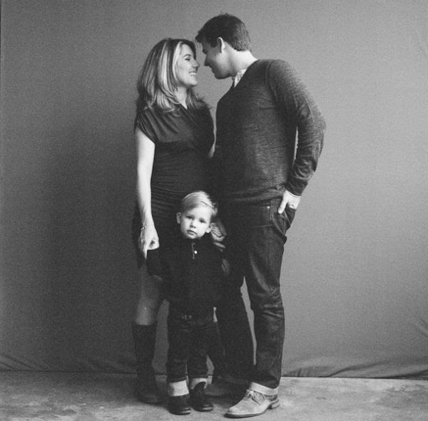 Black And White Family Photo Shoot Inspired By This