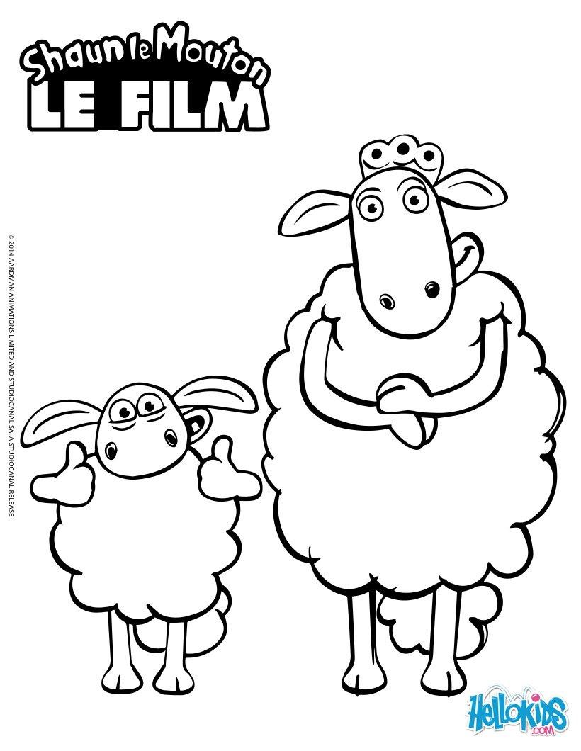 Coloriage204 Coloriage Shaun Le Mouton
