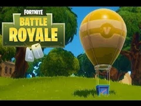 Fortnite Hot Air Balloon