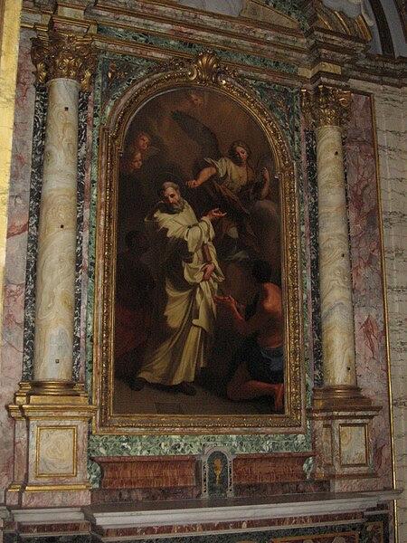Fil: Jean de Matha (église des Trinitaires, Rom) JPG.