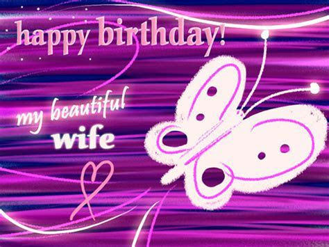 For My Butterfly Wife! Free For Husband & Wife eCards