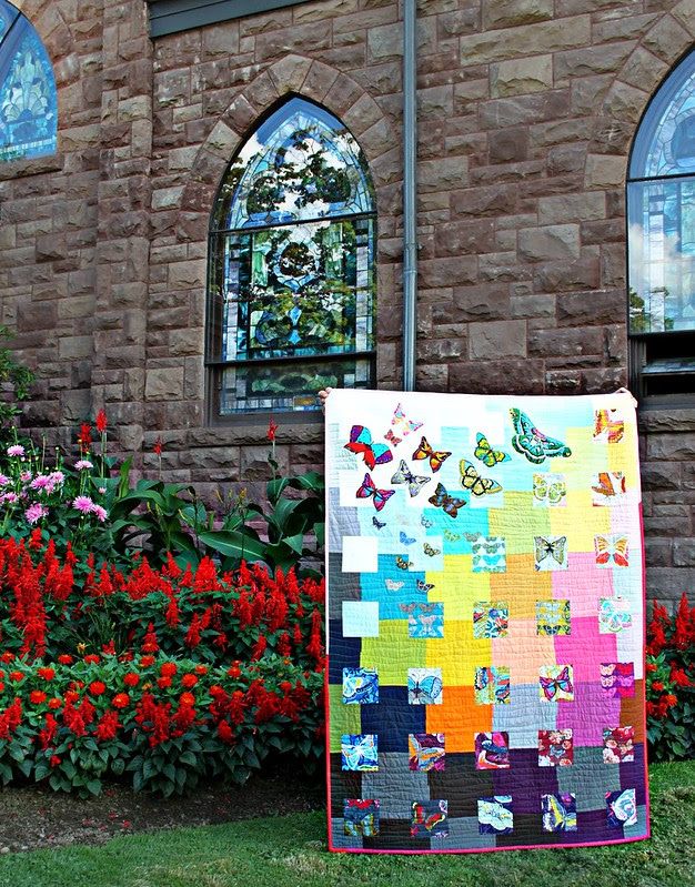 A Butterfly Quilt
