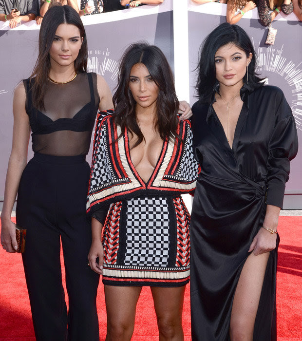 Kendall, Kim and Kylie