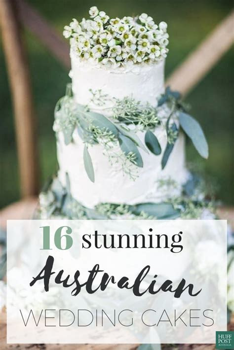 These Australian Wedding Cakes Are Perfection