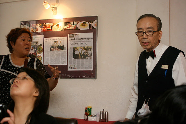 Gingko House employs the elderly and taps on their rich life experience to enhance service