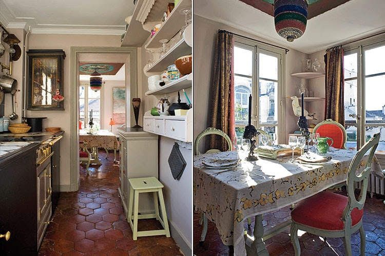 Let's visit every inch of these Paris Apartments that you could stay in  Messy Nessy Chic