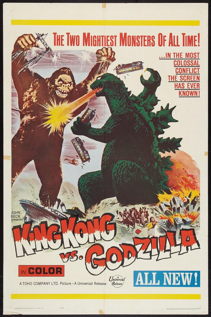 King Kong vs. Godzilla (Universal, 1963)