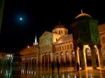 omayyed-mosque-damascus-syria-moon-night