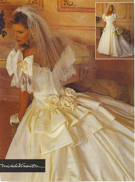 Michelle Vincent from Alfred Angelo. Bridal Gown ad from