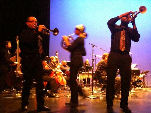 Members of Renee Baker's Brass Epiphany