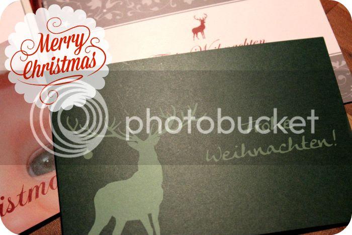 Frohe Weihnachten - Die Kartenmacherei
