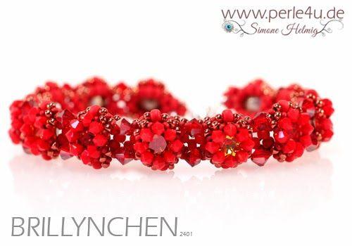 www.PERLE4U.de - Perlen * Anleitungen * Schmuck: Brillynchen - KIT