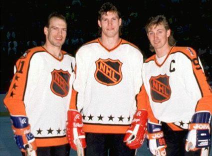 Messier Probert Gretzky photo Messier Probert and Gretzky 1988.jpg