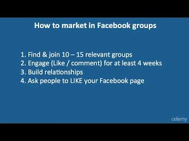 12 How to do Facebook marketing using groups