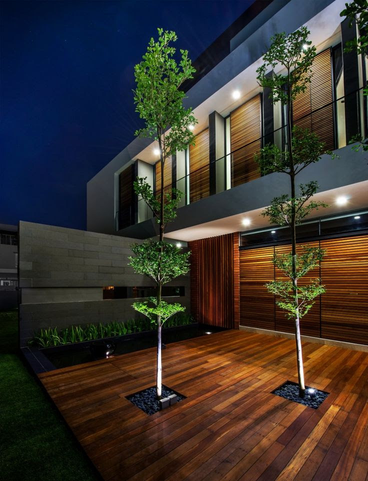 Mimosa Road residence 4 Contemporary Home Evoking a Warm Rustic Feel: Mimosa Road in Singapore