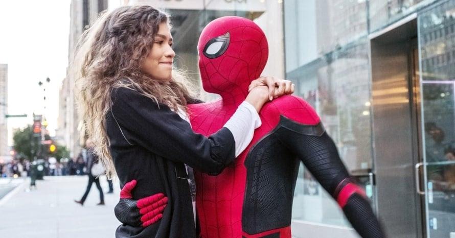 Zendaya Tom Holland Spider-Man Mary Jane Watson