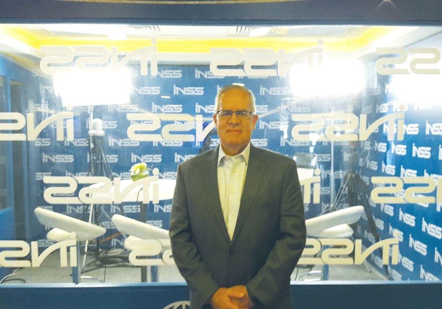 FORMER US Defense Intelligence Agency director David Shedd stands at the Institute for National Secu