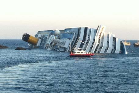 Remoção do navio Costa Concórdia começará em maio