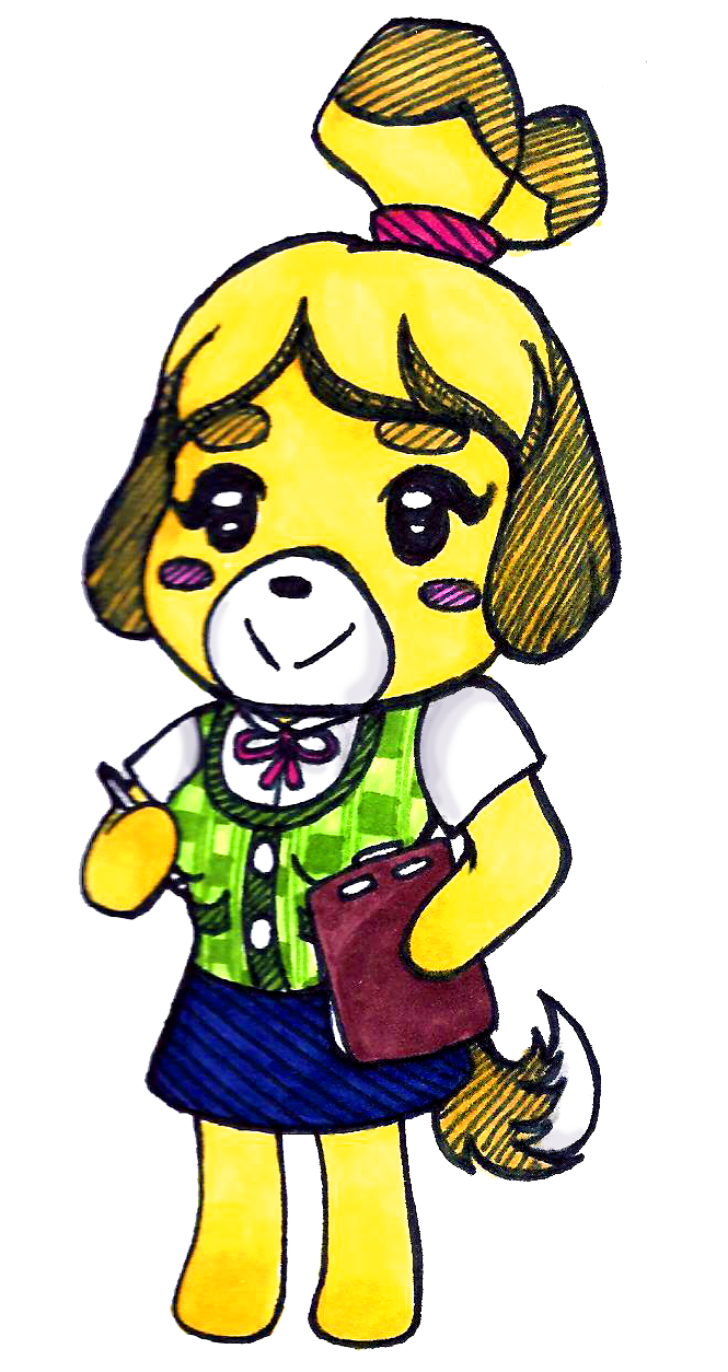 Isabelle Animal Crossing by lex-TC on deviantART