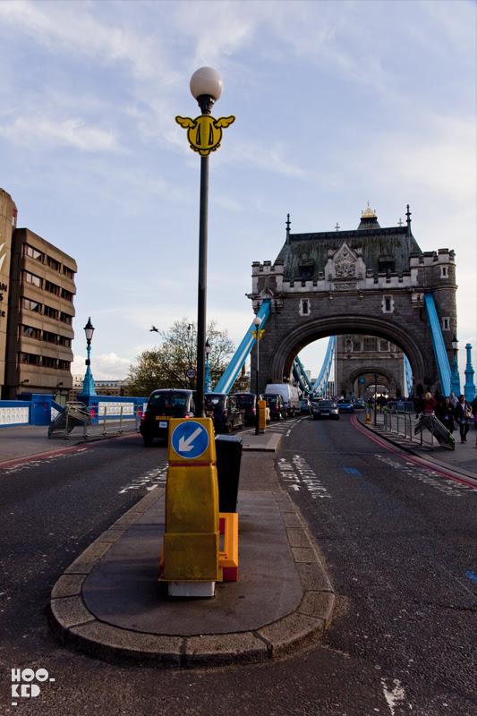 Dface Street Art in London, UK. 2012 Photo ©Hookedblog / Mark Rigney