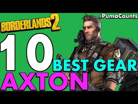 Borderlands 2 Best Axton Build Level 50 - minimalist