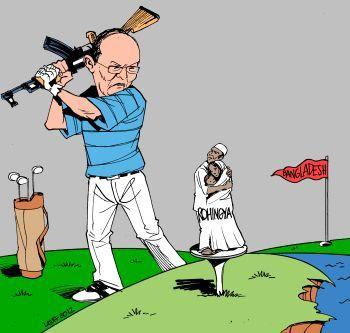 Rohingya expulsion