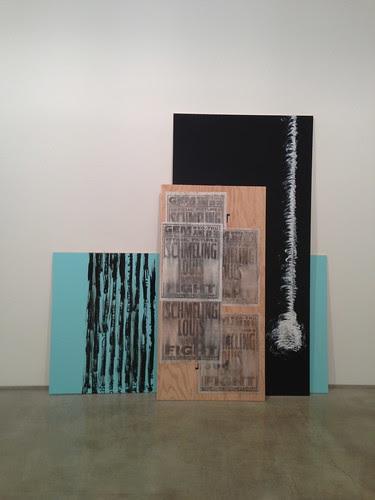 Artwork, Gary Simmons show, Chelsea