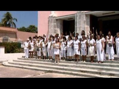 Protest on eve Cuba prisoner release