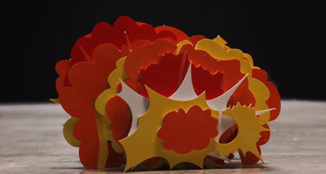 New Papercraft Stop Motion Music Video for Shugo Tokumaru by Animation Masters Kijek / Adamski stop motion paper music animation