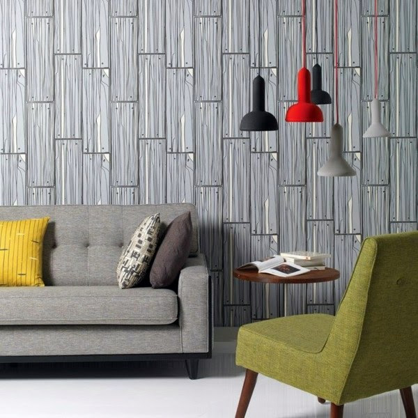 living room wall design ideas cool examples of wallpaper pattern 11 895
