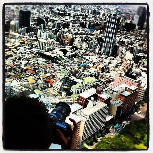 Capturing the Tokyo cityscape from the skies