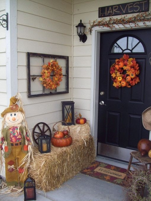 """I hope you """"FALL"""" in love with this warm welcome - Porche Designs - Decorating Ideas - HGTV Rate My Space"""