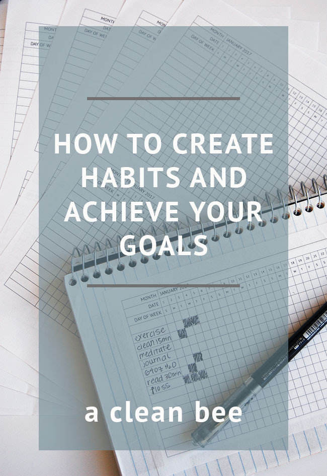 How to harness the power of habit to accomplish your goals - A ...