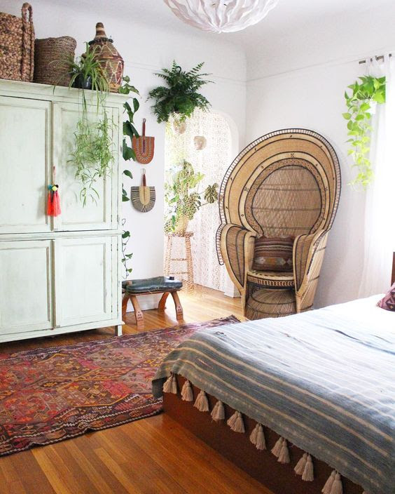 How to Get the Bohemian Aesthetic  in Your Bedroom  Simply