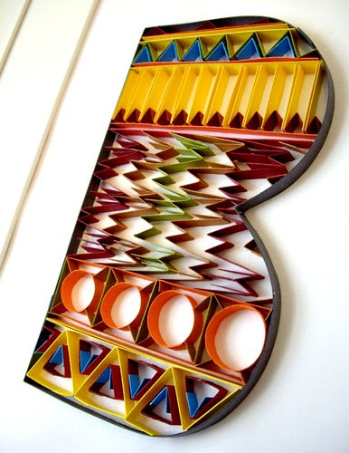 Quilled-B