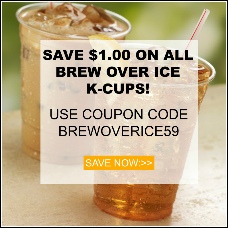 Keurig K-cup brew over ice sale 2