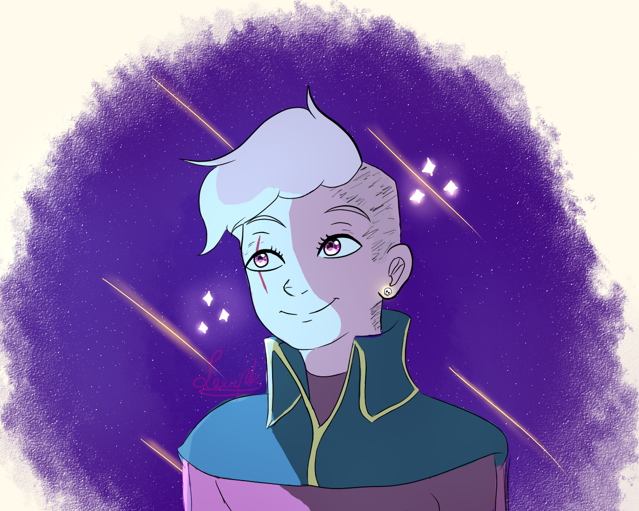 If you like, please reblog!!! Lars of the stars!! The best space pirate! (click for better quality)