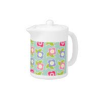 Spring Fling Teapot