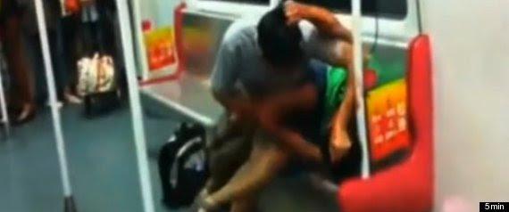 Subway Biting Attack China