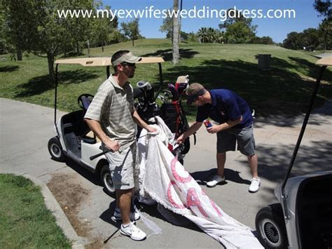 101 Creative Uses for ?My Ex Wife?s Wedding Dress