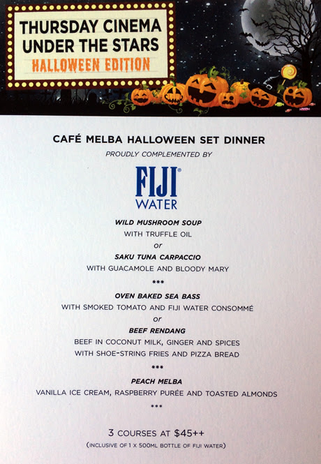 Cafe Melba October Specials
