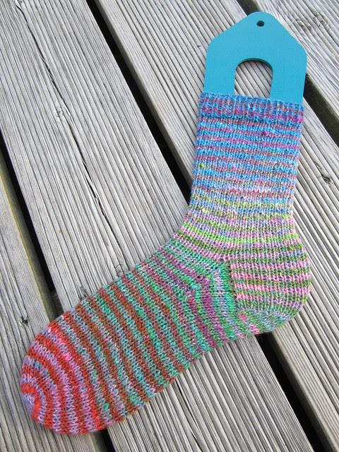 Noro stripy sock (3)