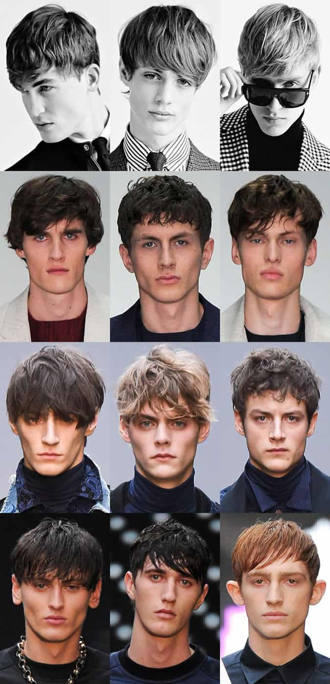 Textured Men's Hair At London Collections: Men AW15