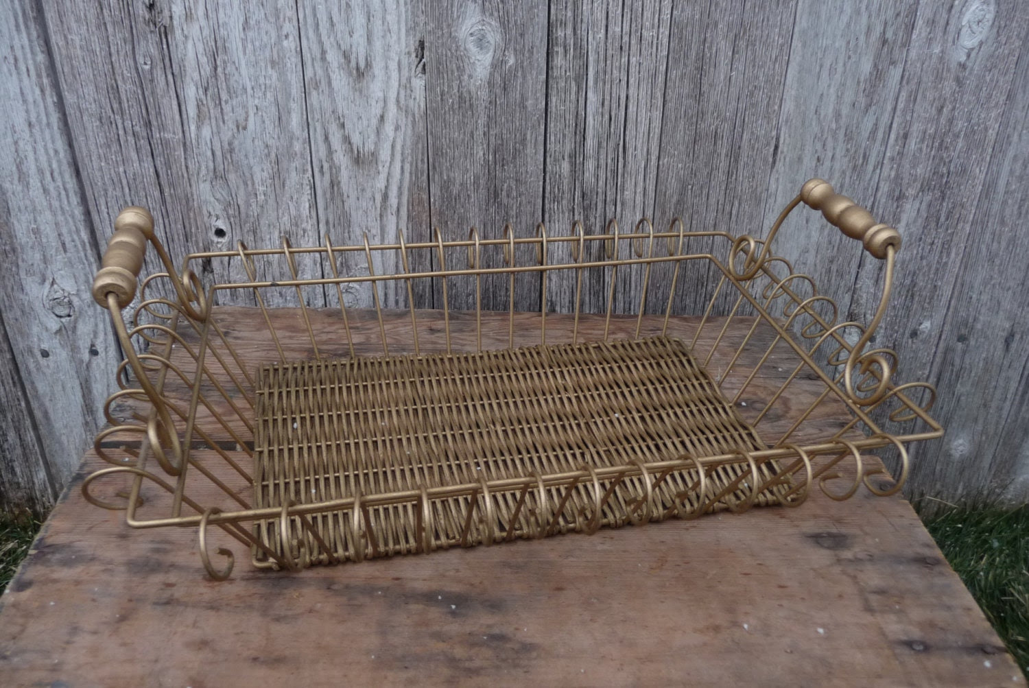 Popular items for wire basket on Etsy