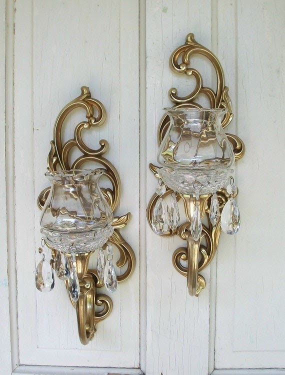 Amazing Vintage Candle Wall Sconces
