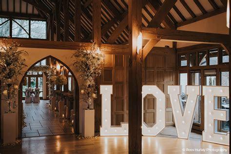 Rivervale Barn wedding venue Yateley, Hampshire