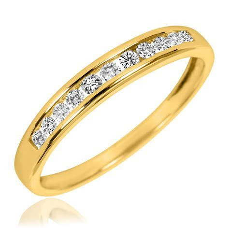 1/5 Carat T.W. Diamond Ladies' Wedding Band 14K Yellow